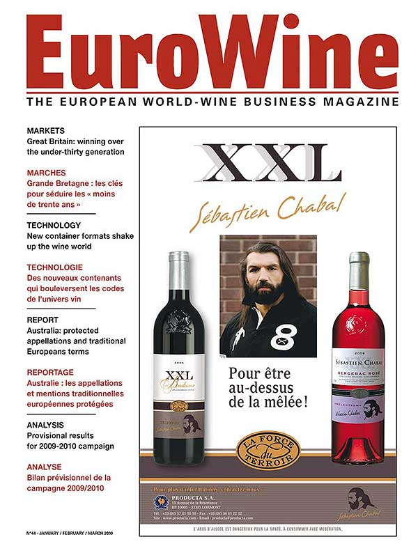 Eurowine - The European World Wine Business Magazine - Mise en page